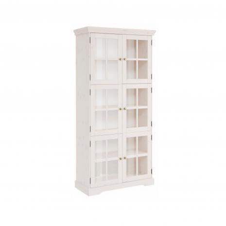 Шкаф-витрина Том Д7207-6 (белый воск)