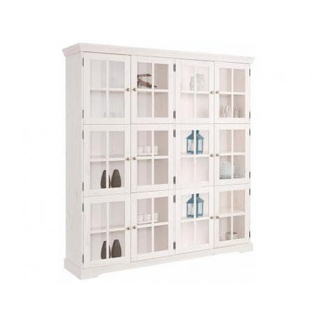 Шкаф-витрина Том Д7207-2 (белый воск)