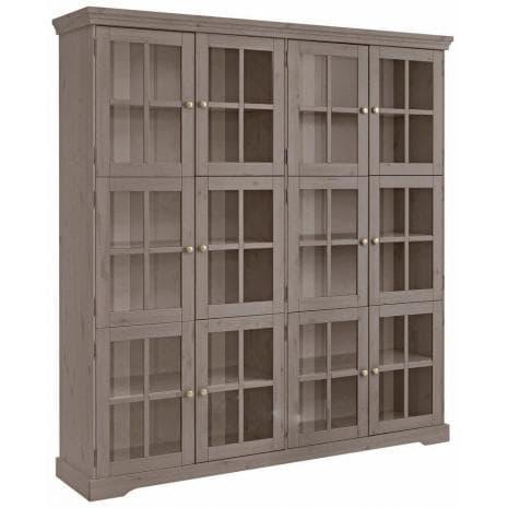 Шкаф-витрина Том Д7207-2 (серый бейц)