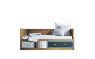 Кровать-кушетка Gouache с ящиками