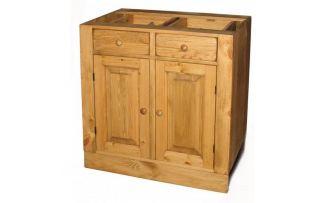 Шкаф-стол ПЛ04 2 ящика, 2 двери 80