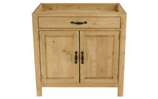 Шкаф-стол CH-BT 120 (2 двери, 1 ящик) Шампань