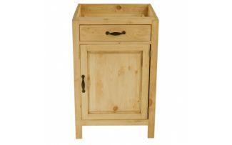 Шкаф-стол CH-BT 60 (1 дверь, 1 ящик) Шампань