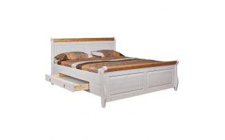 Кровать Мальта-М с ящиками 160х200 (антик)