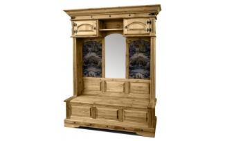 Шкаф комбинированный для прихожей Викинг 04