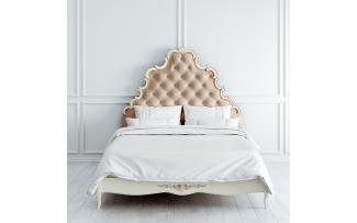 Кровать с мягким изголовьем 160x200 Atelier Gold