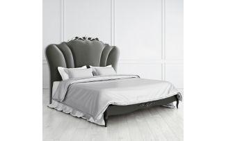 Кровать Nocturne с мягким изголовьем 180*200 серебро