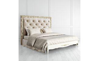 Кровать Romantic Gold с мягким изголовьем 180*200