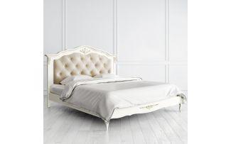 Кровать с мягким изголовьем 140х200 Romantic Gold