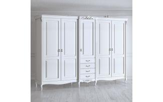Шкаф 5 дверей Silvery Rome