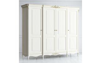 Шкаф 4 двери с глухими дверями Atelier Gold