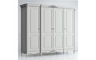 Шкаф 4 двери с глухими дверями Atelier Home