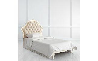 Кровать с мягким изголовьем 90х200 Romantic Gold