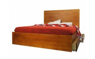 Кровать Gouache Birch 120*200 с ящиками