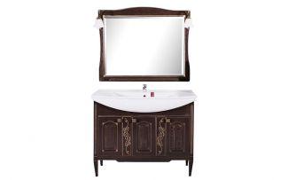 Комплект мебели для ванной Модена 105 Антикварный орех