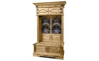Шкаф комбинированный для прихожей Викинг 05