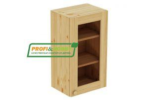 Шкаф настенный 1 дверь 40х72 стекло Profi&Hobby