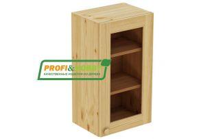 Шкаф настенный 1 дверь 45х90 стекло Profi&Hobby