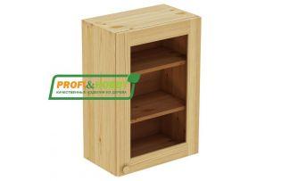 Шкаф настенный 1 дверь 50х72 стекло Profi&Hobby