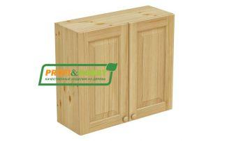 Шкаф настенный 2 двери 80х72 филенка Profi&Hobby
