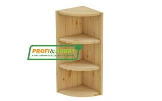Шкаф стеллаж завершающий открытый 72 Profi&Hobby