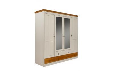 Шкаф Дания 4-створчатый