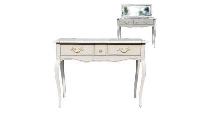 Туалетный стол с зеркалом Noir & Blanc DF890 M01