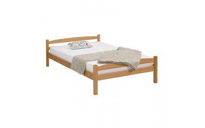 Кровать Самет 140х200 бейц