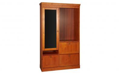 Шкаф для прихожей комбинированный Дания
