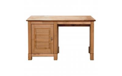 Стол письменный Рауна 10 1-тумбовый (бейц/масло)