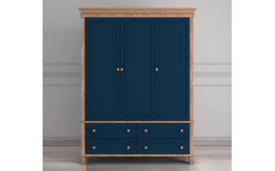 Шкаф трехстворчатый Jules Verne из березы и ясеня
