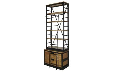 Открытый стеллаж Industrial с 2 ящиками