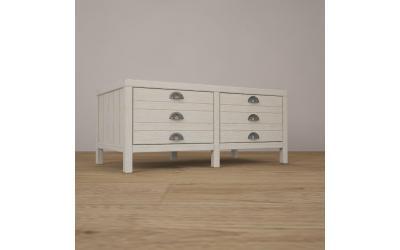 Журнальный столик WoodCorner (Белый)