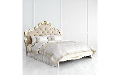 Кровать Romantic Gold с мягким изголовьем 160*200