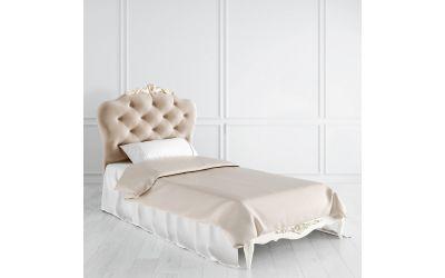 Кровать с мягким изголовьем 90 x 200 Atelier Gold