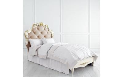 Кровать Romantic с мягким изголовьем 90*190