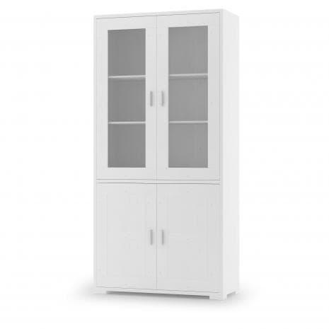 Шкаф с витриной МЭДИСОН Д 1148