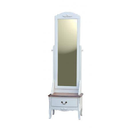 Тумба напольная с зеркалом D71M01 White Rose AS6630