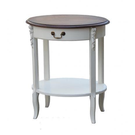 Стол журнальный D71M01 White Rose AS6661