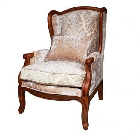 Кресло D71 White Rose DF830B