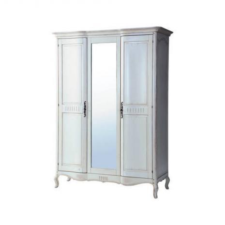 Шкаф трехдверный Noir & Blanc DF886 S2