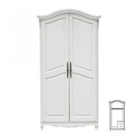 Шкаф S06 White Rose F6682