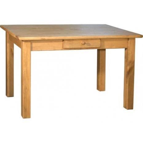 Стол кухонный с ящиком 120х70