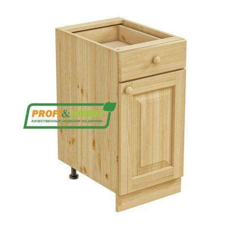 Тумба 1 дверь 1 ящик 40 Profi&Hobby