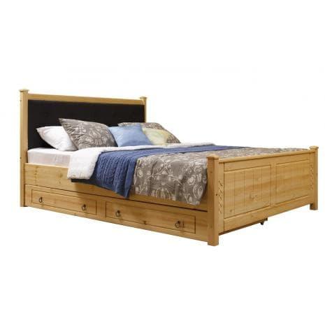 Кровать Дания (мягкая) 1 с ящиками 140