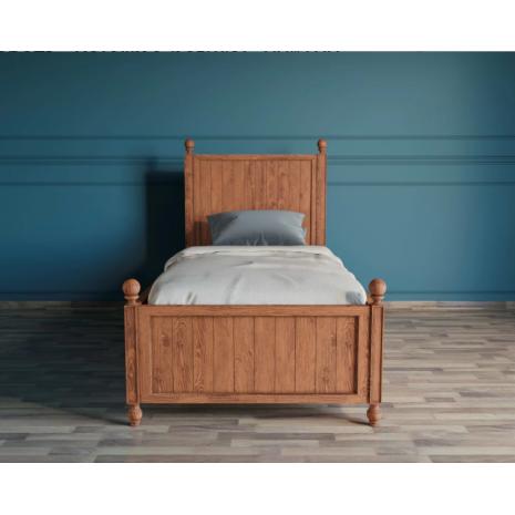 Кровать Palermo односпальная 90х200 Natural