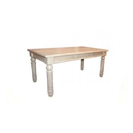 Стол обеденный Викинг GL-05 160 (Браширование)
