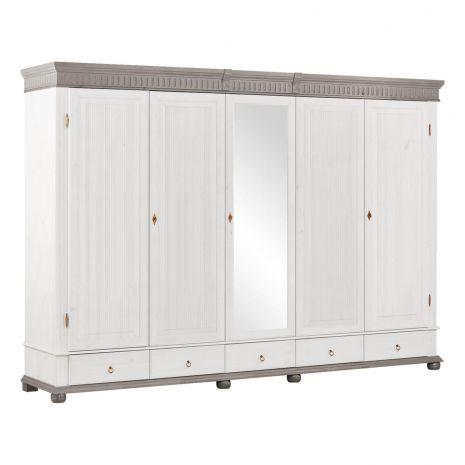 Шкаф Хельсинки 5 SP-М (серый)