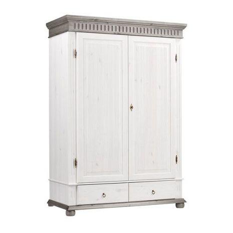 Шкаф Хельсинки 2 М (серый)