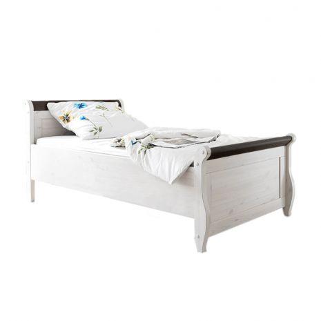 Кровать Мальта 100 без ящиков (колониал)